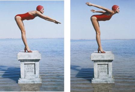 Norman Parkinson-Jerry Hall, Russia, British Vogue-1975