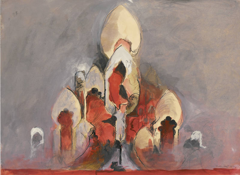 Graham Sutherland-Study For The Cathedral-1974