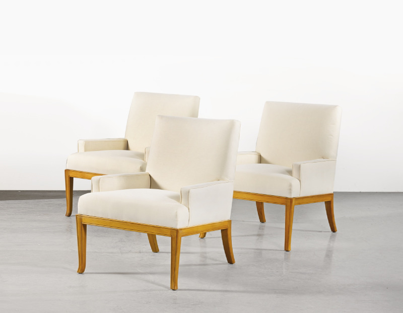 T.H. Robsjohn-Gibbings - Three Armchairs-1965