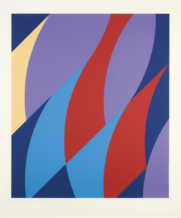 Bridget Riley-Large Fragment (S. 64)-2006