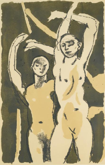Keith Vaughan-Festival Dancers-1951