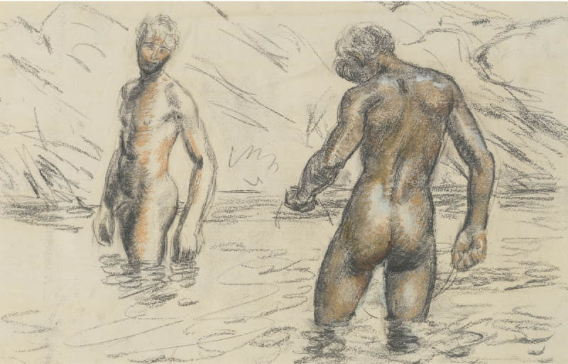 Duncan Grant-Boys Bathing-