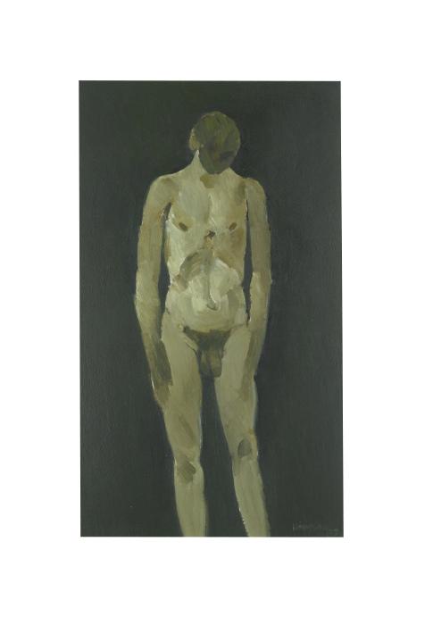 Keith Vaughan-Standing Nude-1952