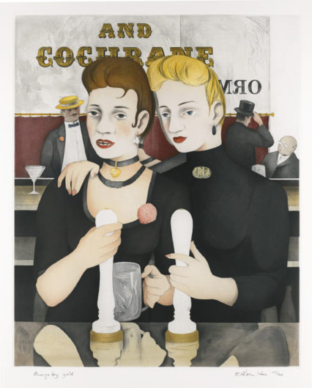 Richard Hamilton-Bronze By Gold (L. 146)-1987