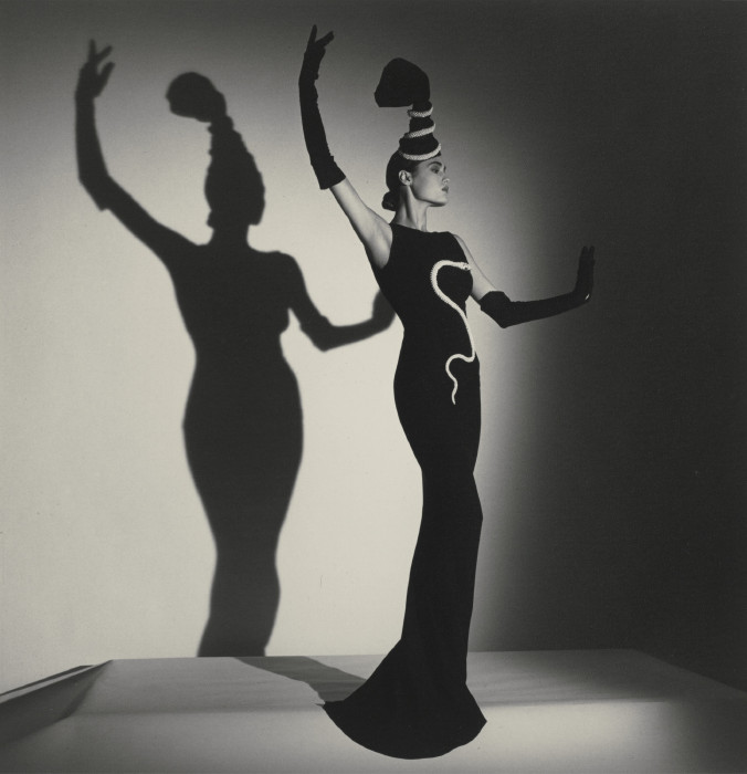 Horst P. Horst-Chanel Evening Dress For British Vogue, London-1986