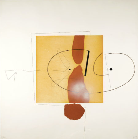 Victor Pasmore-The Owl Of Minerva (T. & H. 75)-1978