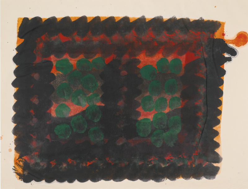 Howard Hodgkin-Window (Indian Leaves)-1978