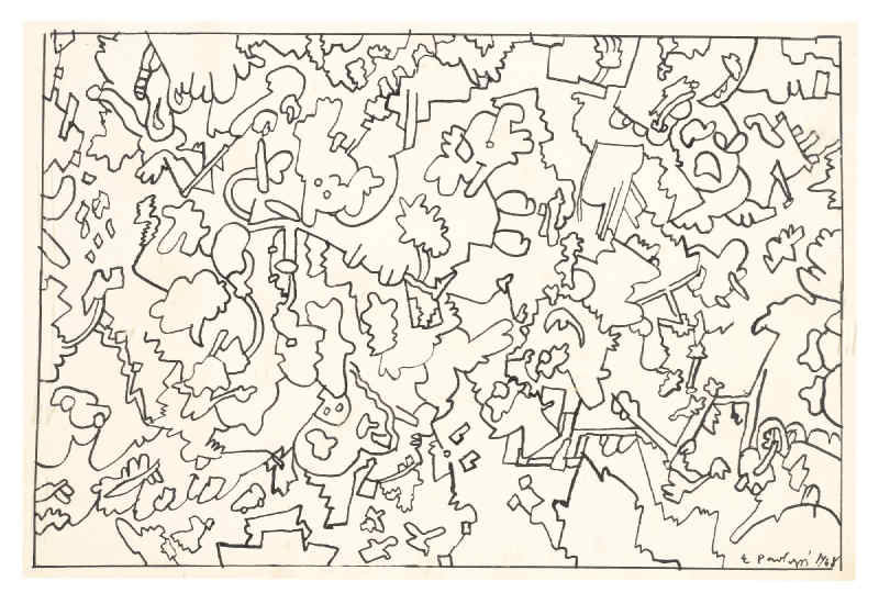 Eduardo Paolozzi-Happy Doodles-1968