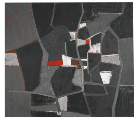 Adrian Heath-Composition-1957