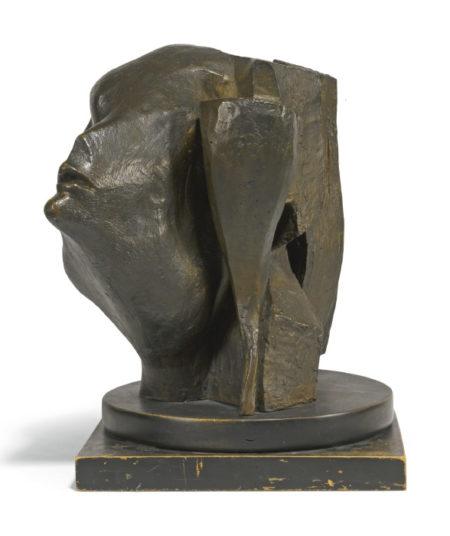 Michael Ayrton-Head Of A Woman-