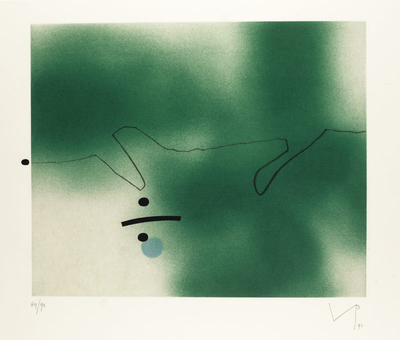 Victor Pasmore-Linear Movement (L. G77)-1992