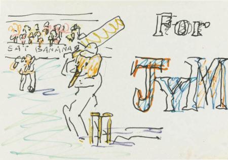 Frank Auerbach-The Cricket Match; At The Circus; In The Rain; Church Service-