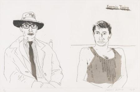 David Hockney-Kasmin Twice (S. A. C. 65; Mca Tokyo 63)-1968