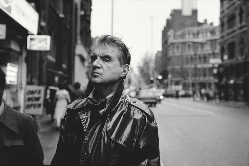 Neil Libbert-Francis Bacon, Charing Cross Road, London-1984