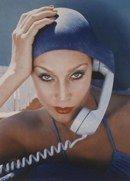 Norman Parkinson-Jerry Hall, Jamaica, British Vogue, 1975-1975