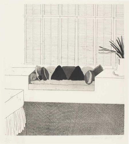 David Hockney-Cushions (Scottish Arts Council 64)-1968