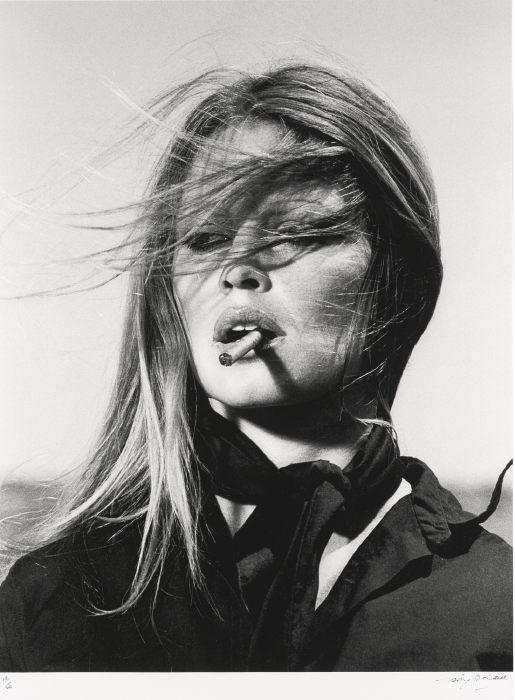 Terry O'Neill-Brigitte Bardot With Cigar, Spain-1971