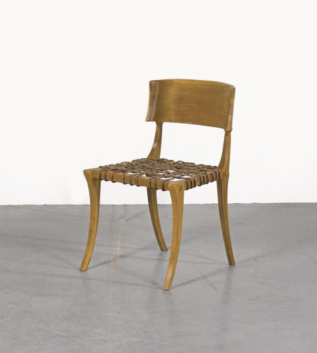 T.H. Robsjohn-Gibbings - Two 'Klismos' Chairs, Model No. 5-1965