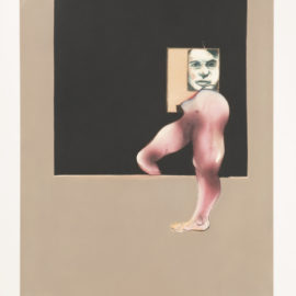 Francis Bacon-Triptych 1991 (Right Panel) (Sabatier 9)-1992