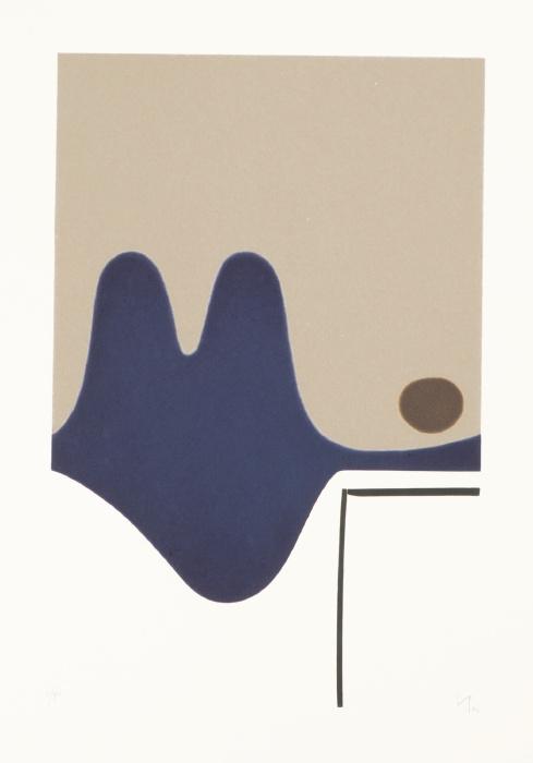 Victor Pasmore-Il Risveglio Della Psiche (L. G23)-1982