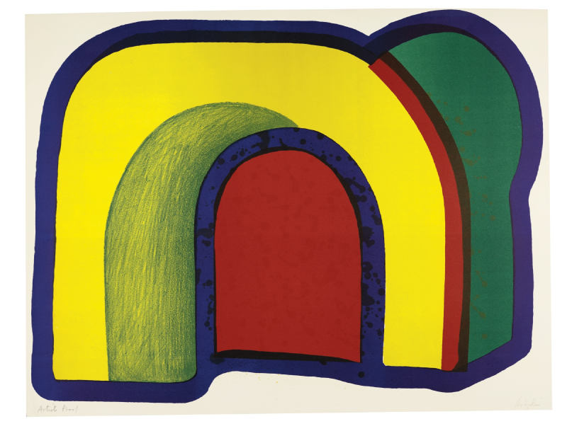 Howard Hodgkin-Composition With Red (H. 10)-1970