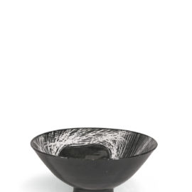 James Tower-Black And White Bowl-1958