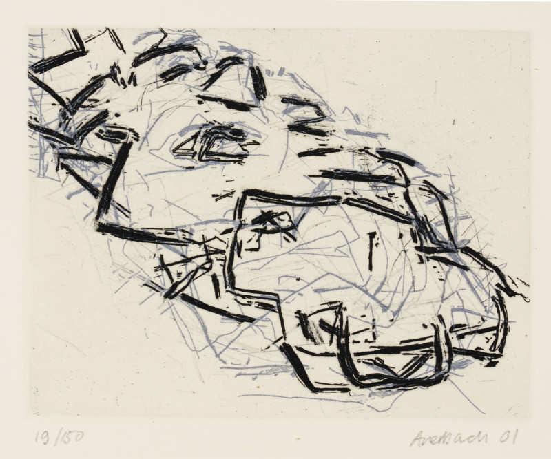 Frank Auerbach-Julia-2001