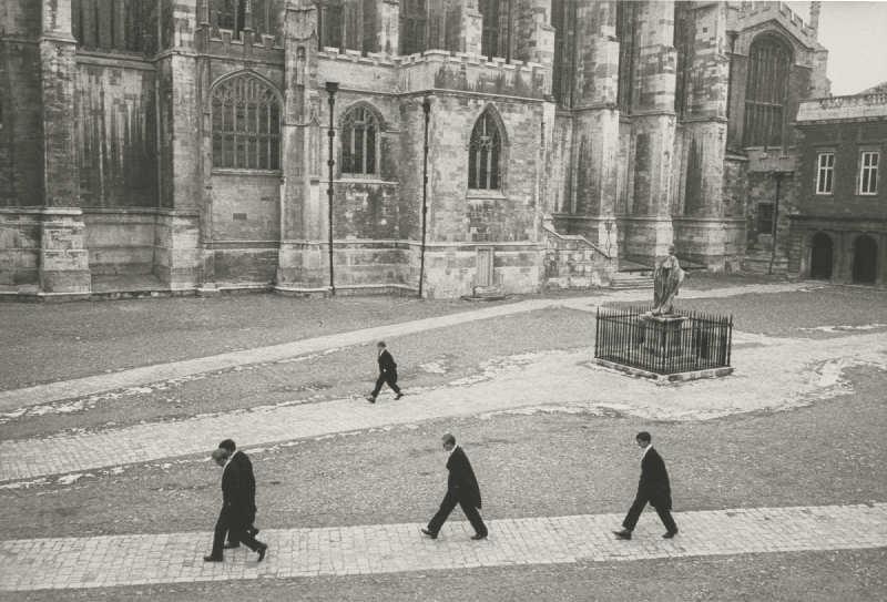 Henri Cartier-Bresson-Eton College, England-1962