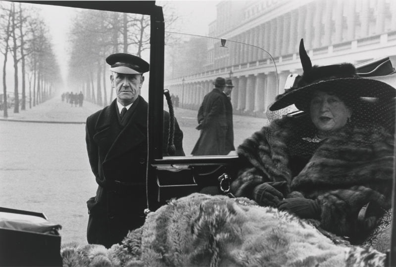 Inge Morath-Mrs Eveleigh Nash At Buckingham Palace Mall, London-1953