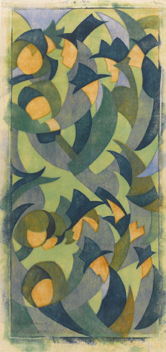 Sybil Andrews-Hyde Park (Coppel Sa 16)-1931