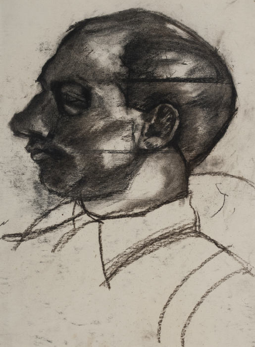 David Bomberg-Self Portrait-1921