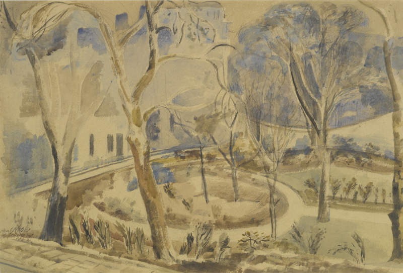 Paul Nash-Russell Square-1942