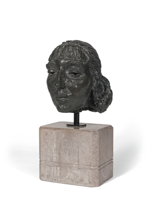 Jacob Epstein-Fourth Portrait Of Dolores (Head)-1923