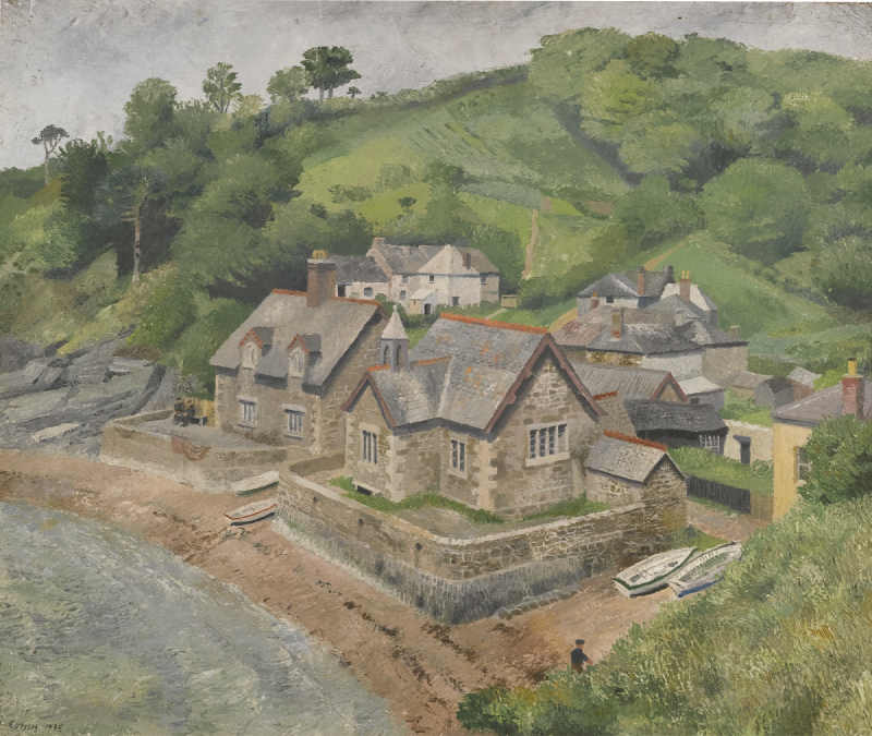 Richard Eurich-Durgan, Helford River-1935