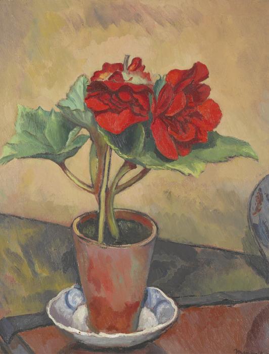 Bernard Meninsky-Begonias-