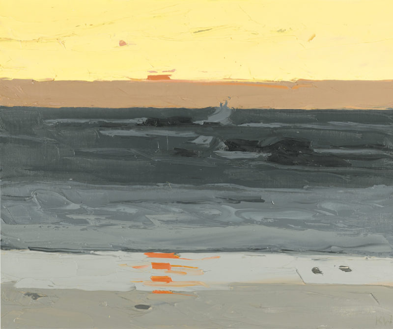 Kyffin Williams-Evening, Tre-Arddur-
