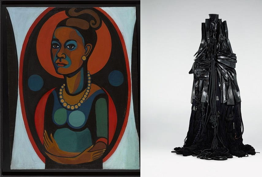 Faith Ringgold - Early Works #25: Self-Portrait, 1965 / Barbara Chase-Riboud - Confessions for Myself, 1972
