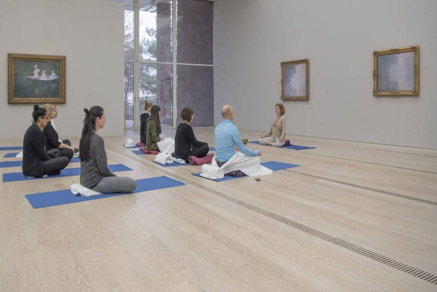 MONET IN THE MORNING — Mediation at the exhibition of Monet at Fondation Beyeler, 2017, Courtesy: Fondation Beyeler