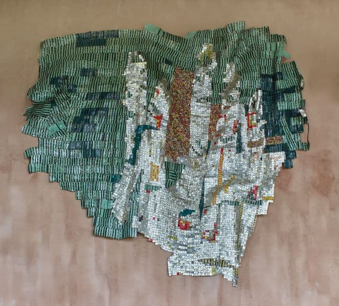 El Anatsui - Intimation, 2014