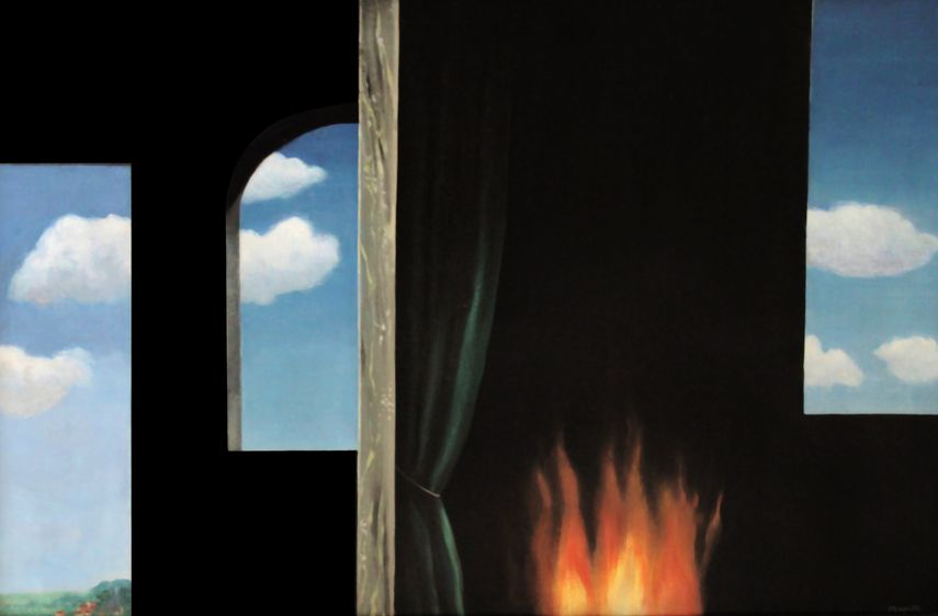 in the news : René Magritte - LOracle circa,1931