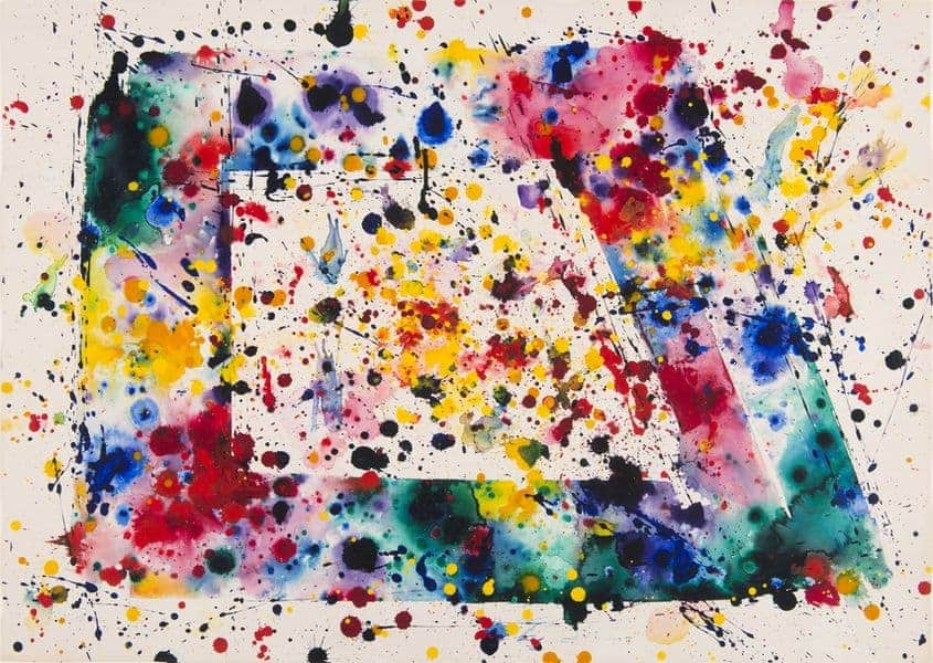 Sam Francis, 1975; a high quality piece at the fair