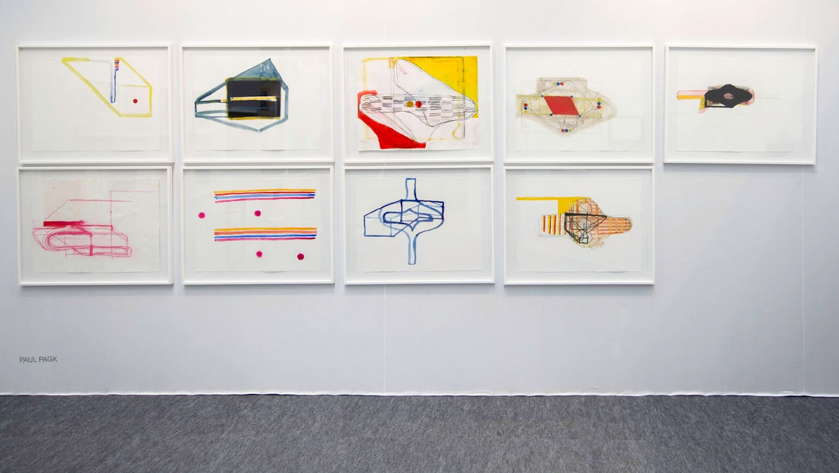 Paul Pagk - installation view