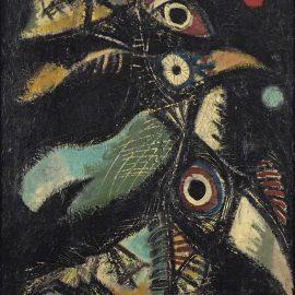 Anton Rooskens-Nachtvogels (Night Birds)-1949