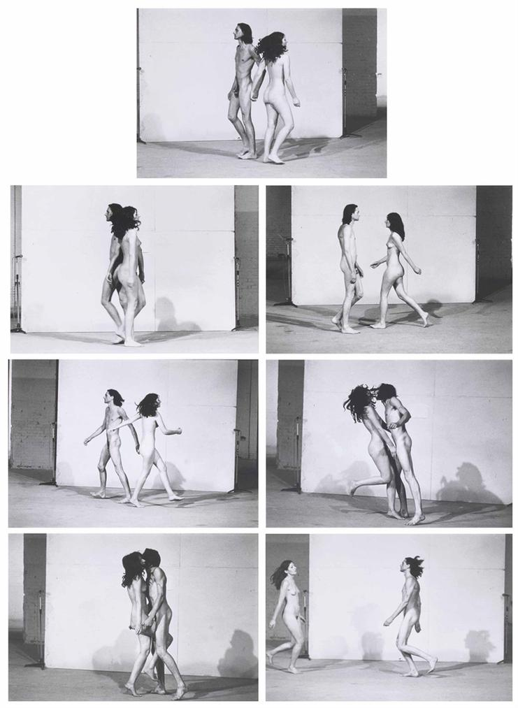 Marina Abramovic & Ulay - Relation In Space-1976