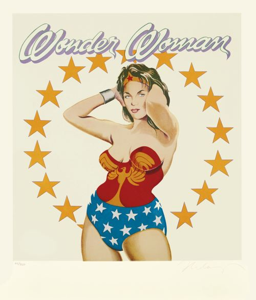 Mel Ramos-Phantom Lady; Wonder Woman; And Fraulein French Fries-2003