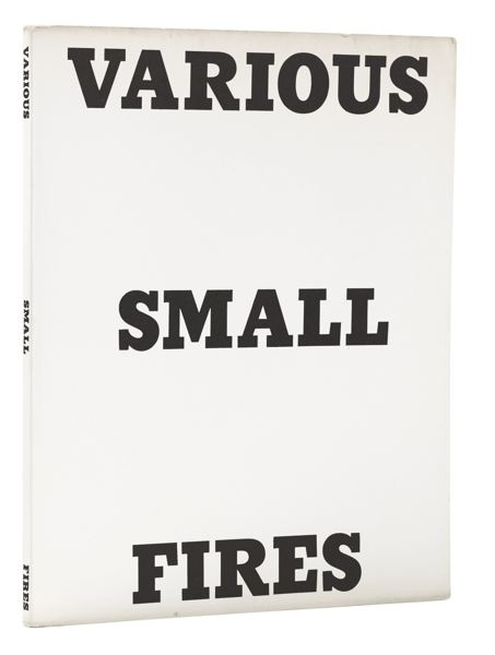 Ed Ruscha-Twentysix Gasoline Stations; And Various Small Fires (Minneapolis Institute Of Art Books 1; And 2)-1964