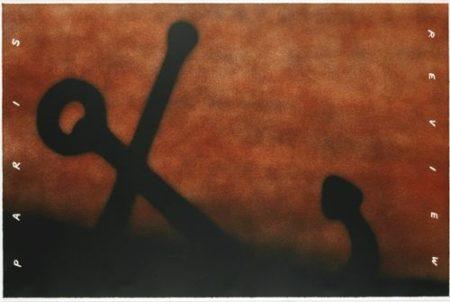 Ed Ruscha-Anchor In Sand (W. A. C. 213)-1991
