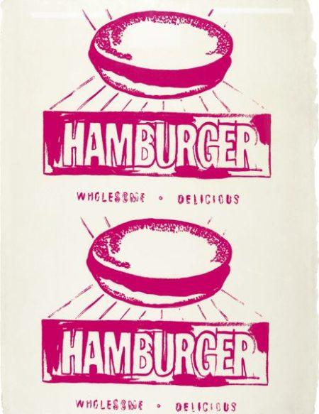 Andy Warhol-Hamburger (Double) (F. & S. IIIa.67)-1986