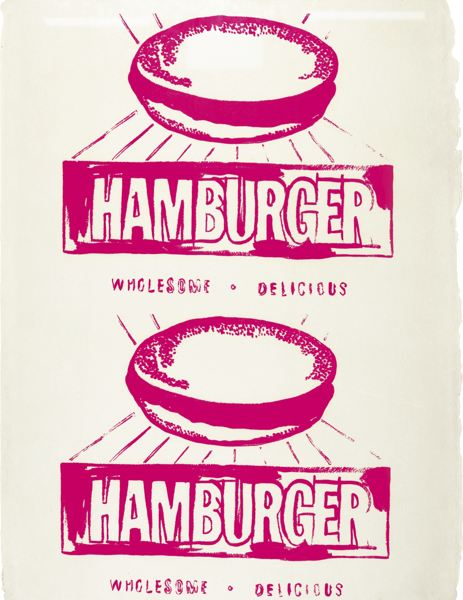 Andy Warhol-Hamburger (Double) (F. & S. IIIa.67)-1986