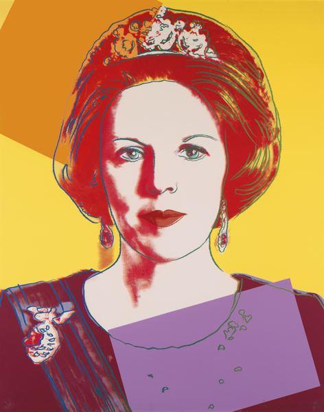 Andy Warhol-Queen Beatrix (F. & S. II.338)-1985